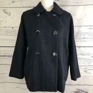 TOPSHOP Double Breasted Wool Coat Jacket 6